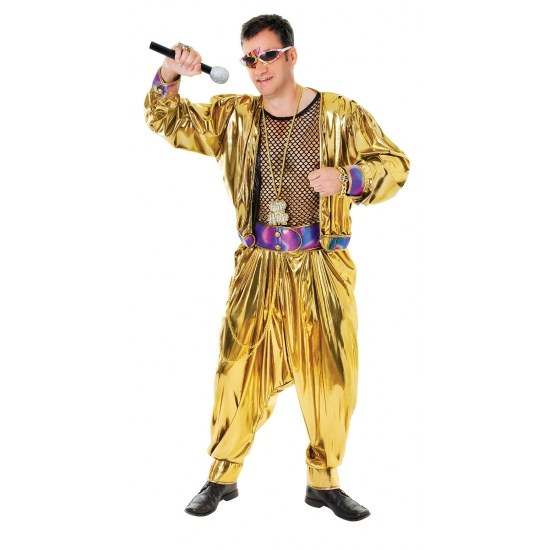 Carnavalskostuum Cant touch this kostuum