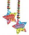 Handecoratie birthday blocks happy birthday