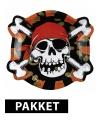 Kinderfeestje Piraten thema feest pakket