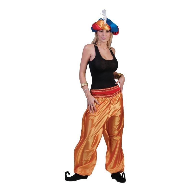 Arabische danseres goud broek