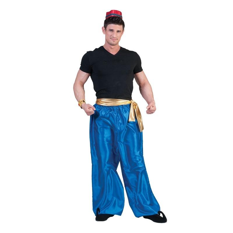 Arabische prins blauwe broek