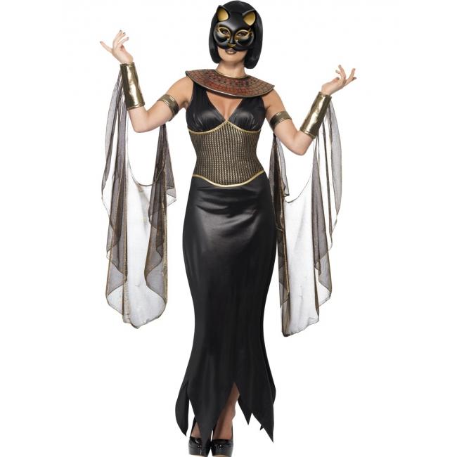 Bastet kostuum met katten masker