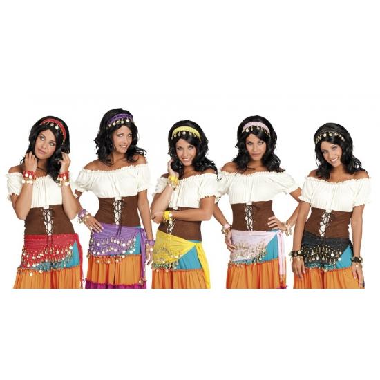 Buikdanseres verkleed setje