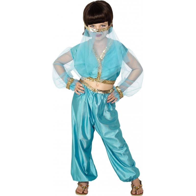 Buikdanseressen kostuum voor meiden