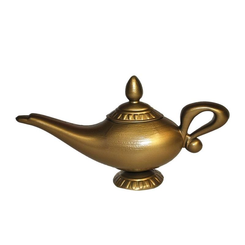 Geesten lamp in het goud