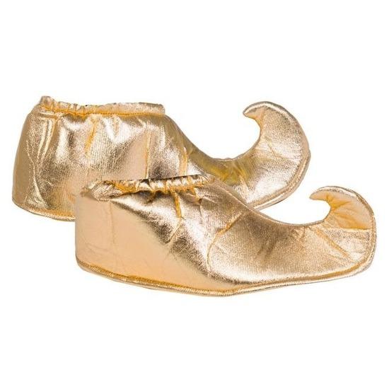 Gouden 1001 nacht schoenenovertrek voor volwassenen