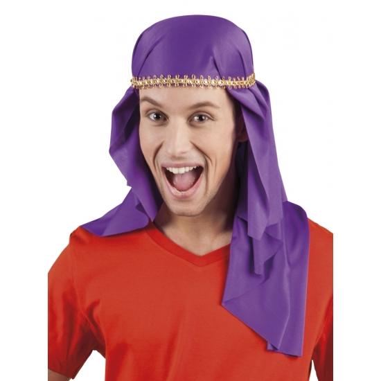 Sjeik hoofddoek paars