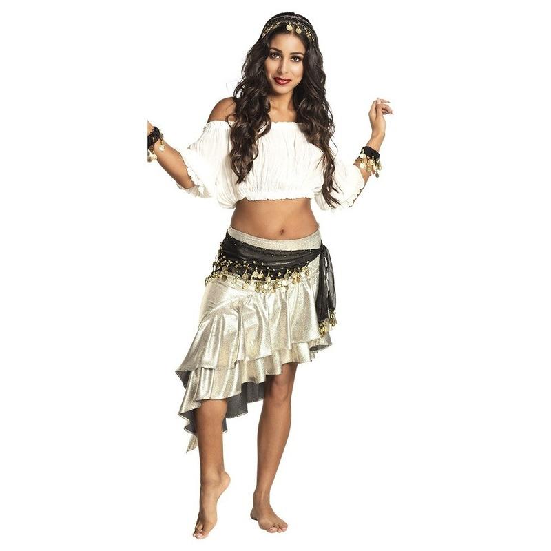 Verkleed set Harem danseres zwart