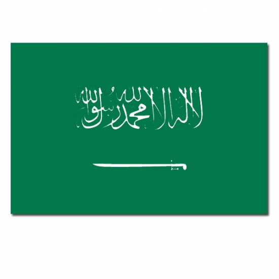 Vlag Saoedi Arabie 90 x 150 cm feestartikelen
